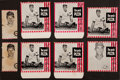 Baseball Cards:Lots, 1966 & 1967 Pro's Pizza Chicago Cubs Collection (13). ...