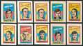 Hockey Cards:Sets, 1970-71 Topps Story Booklet Near Set (22/24) and O-Pee-Chee Complete Story Booklet Set (24). ...