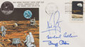 Transportation:Space Exploration, Apollo 11 Crew-Signed Type III Insurance Cover Directly from thePersonal Collection of Mission Command Module Pilot Michael C...