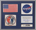 Transportation:Space Exploration, Skylab II (SL-3) Flown and Worn Full Set of Four Flight CoverallPatches Directly from the Personal Collection of Mission Pilo...