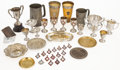 Decorative Arts, British:Other , MALCOLM S. FORBES COLLECTION: LARGE GROUP OF VICTORIAN AND LATERAWARDS AND SOUVENIRS INCLUDING TROPHIES, MEDALLIONS AND ASHT...