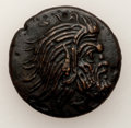Ancients:Greek, Ancients: TAURIC CHERSONESOS. Panticapaeum. Ca. 340-325 BC. AE 20mm (6.98 gm). ...