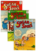 Silver Age (1956-1969):Humor, Sugar and Spike Group - Savannah pedigree (DC, 1963-66) Condition: Average VF/NM.... (Total: 5 Comic Books)