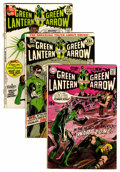 Silver Age (1956-1969):Superhero, Green Lantern #77-89 Group (DC, 1969-71) Condition: Average VG.... (Total: 13 Comic Books)