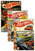 Bronze Age (1970-1979):Miscellaneous, Hot Wheels #1-6 Group (DC, 1970-71) Condition: Average VG/FN....(Total: 6 Comic Books)