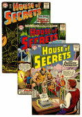 Silver Age (1956-1969):Mystery, House of Secrets Group (DC, 1959-74) Condition: Average GD+....(Total: 10 Comic Books)