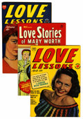 Golden Age (1938-1955):Romance, Love Lessons/Love Stories of Mary Worth File Copies Group (Harvey,1949-50) Condition: Average VF.... (Total: 11 Comic Books)
