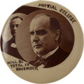 Political:Pinback Buttons (1896-present), William McKinley: Classic Eclipse Button. ...