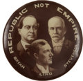 Political:Pinback Buttons (1896-present), William Jennings Bryan: Anti-Imperialism Pin....