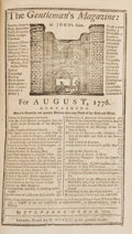 Political:Miscellaneous Political, George Washington: 1st British Printing of Declaration ofIndependence....