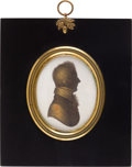 Miscellaneous, Federal Portraiture: Miers and Field Silhouette....
