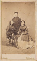 Photography:CDVs, George Armstrong Custer: Unusual Family Portrait....