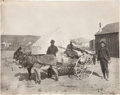 "Photography:Signed, P. E. Larson ""Prospectors Outfit Goldfield, Nevada"" Photograph...."