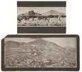 Photography:Cabinet Photos, Tonopah, Nevada: Two Photographs.... (Total: 2 Items)
