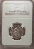 Seated Quarters: , 1878 25C XF45 NGC. NGC Census: (3/78). PCGS Population (5/103).Mintage: 2,260,800. Numismedia Wsl. Price for problem free ...