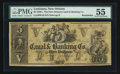 Obsoletes By State:Louisiana, New Orleans, LA- New Orleans Canal & Banking Co. $5. ...