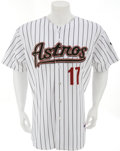 Baseball Collectibles:Uniforms, 2007 Lance Berkman Game Worn, Signed Jersey. ...