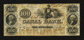 Obsoletes By State:Louisiana, New Orleans, LA- New Orleans Canal & Banking Company $100. ...