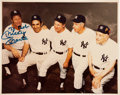 Autographs:Others, Mickey Mantle Signed Photograph....
