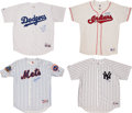 Baseball Collectibles:Uniforms, Baseball Greats Signed Jerseys Lot of 4....