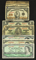 Canadian Currency: , Canadian Cornucopia.. ... (Total: 39 notes)