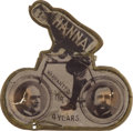 Political:3D & Other Display (1896-present), William McKinley: Elusive Mechanical Bicycle....