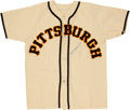 Baseball Collectibles:Uniforms, Billy Herman Signed Jersey....