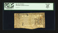 Colonial Notes:Maryland, Maryland April 10, 1774 $2/3 PCGS Apparent Very Fine 25.. ...