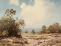 Texas:Early Texas Art - Regionalists, R. D. ENRIGHT (American, b. 1921). Texas Landscape. Oil oncanvas. 17 x 23 inches (43.2 x 58.4 cm). Signed lower left: ...