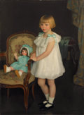 Fine Art - Painting, American:Modern  (1900 1949)  , Property of a Private Collector, New York. WILLIAM MCGREGOR PAXTON(American, 1869-1941). Portrait of Eleanor Anne S...