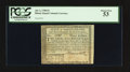 Colonial Notes:Rhode Island, Fully Signed Rhode Island July 2, 1780 $3 PCGS About New 53.. ...