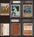 Baseball Cards:Singles (1970-Now), 1981-83 Ryne Sandberg Baseball Card Trio (3). ...