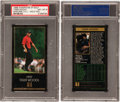 """Golf Cards:General, 1998 Masters of Golf """"Champions of Golf"""" Tiger Woods Gold Foil PSA NM-MT 8...."""