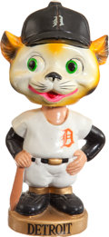 Baseball Collectibles:Others, 1967-72 Detroit Tigers Gold Base Nodder....