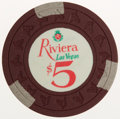 Miscellaneous:Gaming Chips, Riviera Casino Chip...