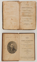 Political:Small Miscellaneous (pre-1896), George Washington: Biographies by Weems and Ramsey.... (Total: 2 Items)