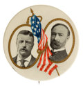 Political:Pinback Buttons (1896-present), Theodore Roosevelt: Choice Jugate. ...
