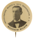 Political:Pinback Buttons (1896-present), Woodrow Wilson: Tough Inauguration Pin....