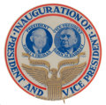 Political:Pinback Buttons (1896-present), Harry S Truman: Graphic Inauguration Jugate....