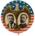 Political:Pinback Buttons (1896-present), Theodore Roosevelt: Displayed Eagle Jugate....