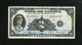 Canadian Currency: , BC-3 $2 1935 Fine.. ...