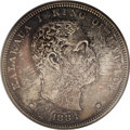 Coins of Hawaii, 1883 $1 Hawaii Dollar MS64 PCGS....