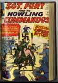 Silver Age (1956-1969):War, Sgt. Fury and His Howling Commandos #1-13 Bound Volume (Marvel, 1963-64)....