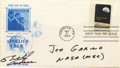 """Autographs:Celebrities, Bill Anders Signed Apollo 8 FDC """"Bill/Anders,"""" 6.5"""" x 3.75"""".Picturing Anders, James Lovell, and Frank Borman, the Apoll...(Total: 1 Item)"""
