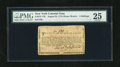 Colonial Notes:New York, New York August 25, 1774 (Water Works) 4s PMG Very Fine 25. This isone of the nicest examples we have offered in the last y...