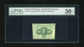 Fractional Currency:First Issue, Fr. 1243 10c First Issue PMG About Uncirculated 50EPQ. A long diagonal fold appears to be all that separates this scarce no ...