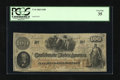 Confederate Notes:1862 Issues, T41 $100 1862. This note is printed on CSA script watermarkedpaper. PCGS Very Fine 35....