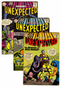 Silver Age (1956-1969):Horror, Tales of the Unexpected Group (DC, 1958-64) Condition: AverageVG.... (Total: 9 Comic Books)