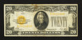 Small Size:Gold Certificates, Fr. 2402 $20 1928 Gold Certificate. Fine-Very Fine.. ...