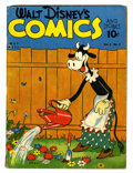 Golden Age (1938-1955):Cartoon Character, Walt Disney's Comics and Stories #8 (Dell, 1941) Condition: GD....